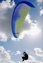 PARAGLIDING EQUIPMENT, PARAGLlDERS, HARNESSES, RESERVES AND
