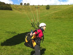lessons in paragliding