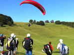 london paragliders on the South Downs
