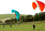 training students about paragliders